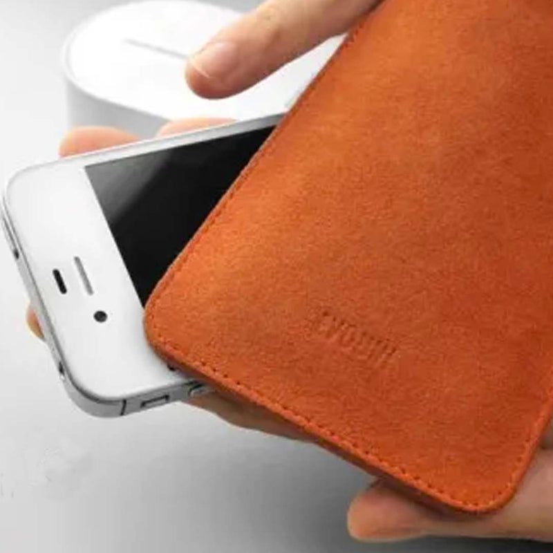 Evouni Handmade felt pouch for iPhone 12 mini / iPhone SE (2016)