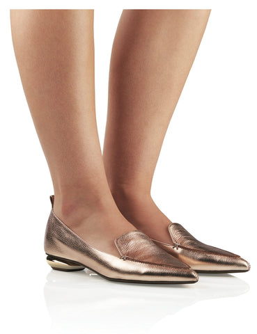 Dakota Loafer - Rose Gold