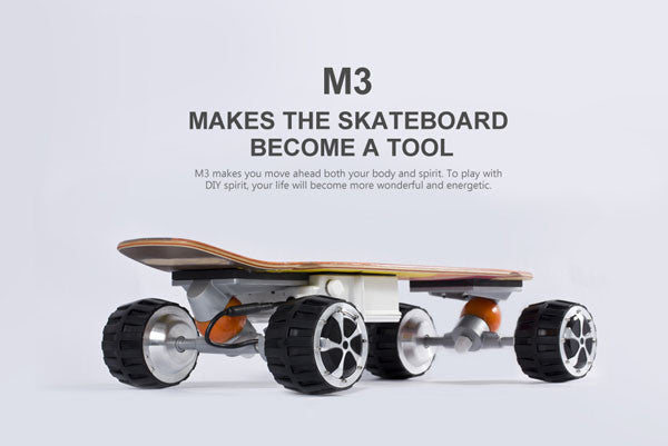 Check out the AirWheel M3 skateboard in action