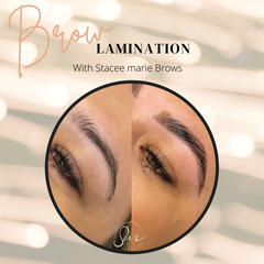 Brow Lamination + Bronsun Dye with Stacee Marie
