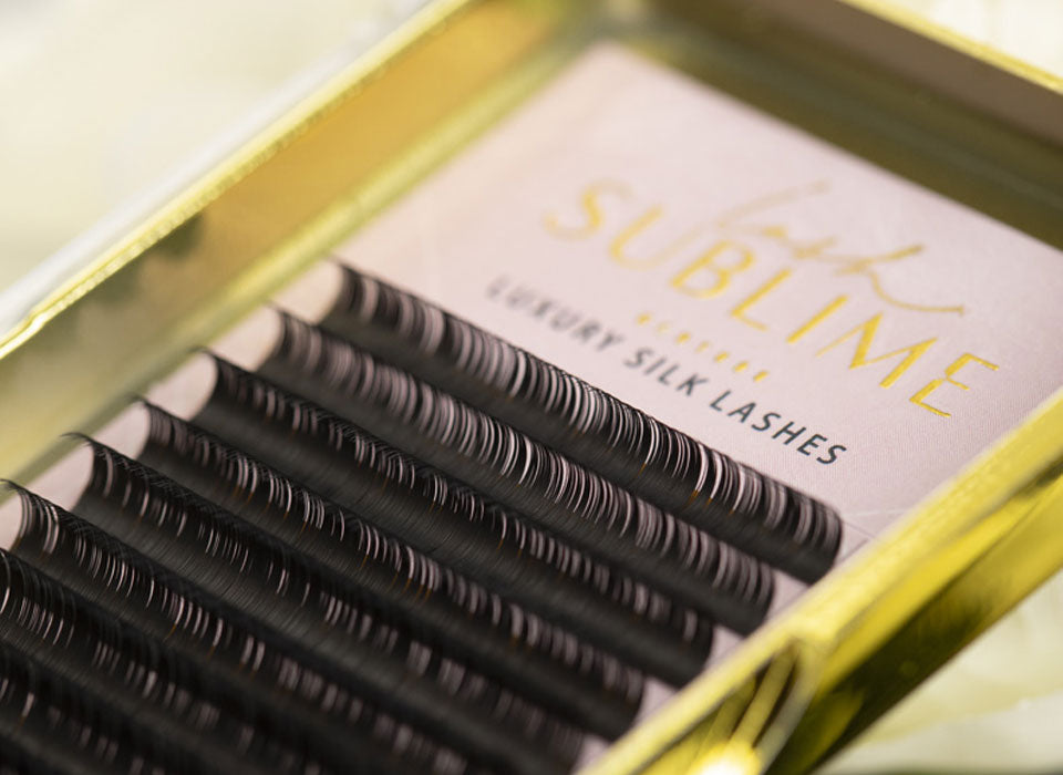 Lash Sublime D Curl .07 Full Length Trays
