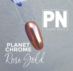 Chrome Effect Pigment - ROSE GOLD