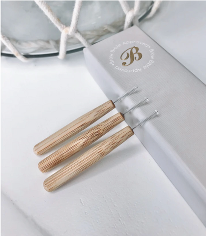 Bamboo Brow Lamination Brushes 40pk