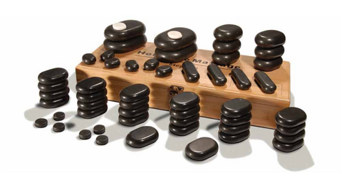 Massage Stone Set 54 Pieces