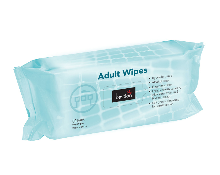 Adult Wipes 80 Sheets