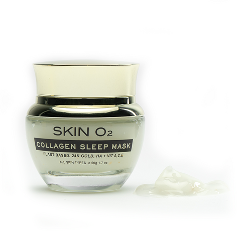 Sleep Mask 24K Gold Collagen & Hyaluronic