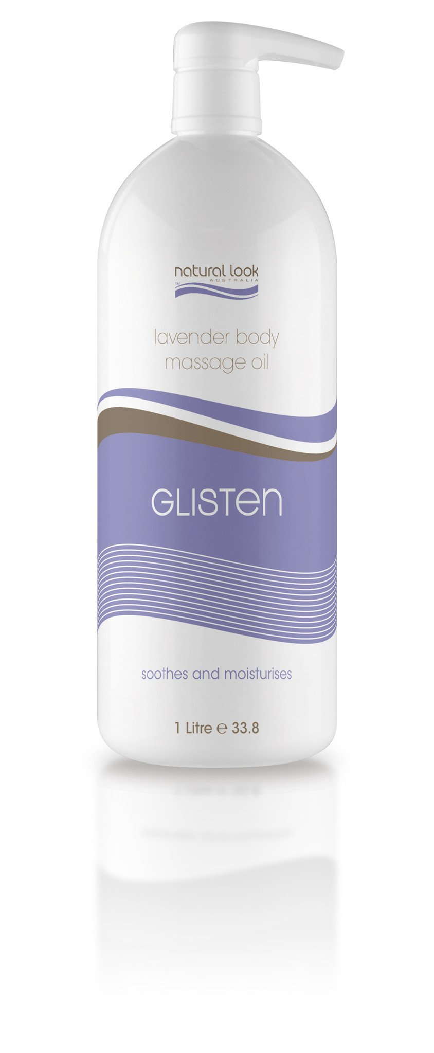 Natural Look Glisten Body Massage Oil 1 Litre