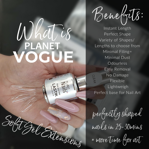 Planet Vogue Soft Gel Extensions Workshop