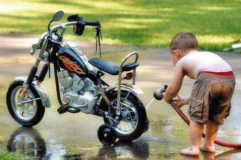 Clean Your Motorcycle