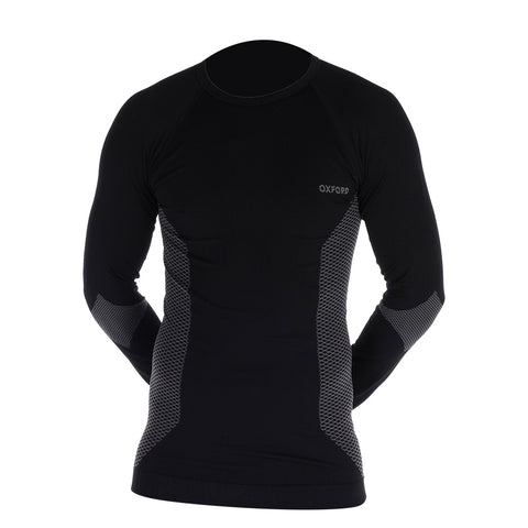 Oxford base layer knitted tops