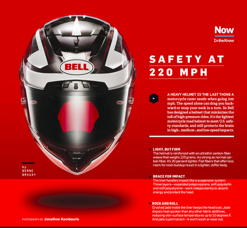 Safety At 220 MPH