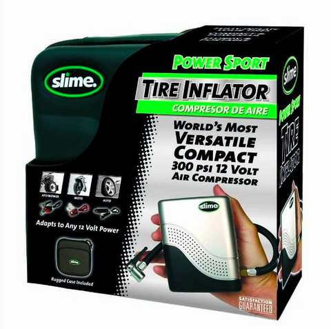 Slime Compact Tyre Inflator Air Pump