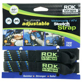 Oxford ROK Straps HD 25mm Adjustable