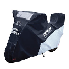 Oxford Rainex Bike Cover W/Top Box-Large