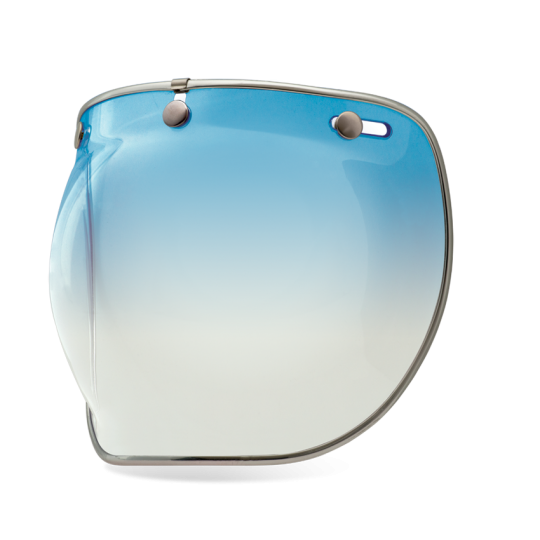 Bell Shield 3 Snap Bubble Deluxe - Ice Blue