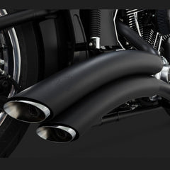 Vance & Hines Exhausts - Super Radius 2-2 - Softail