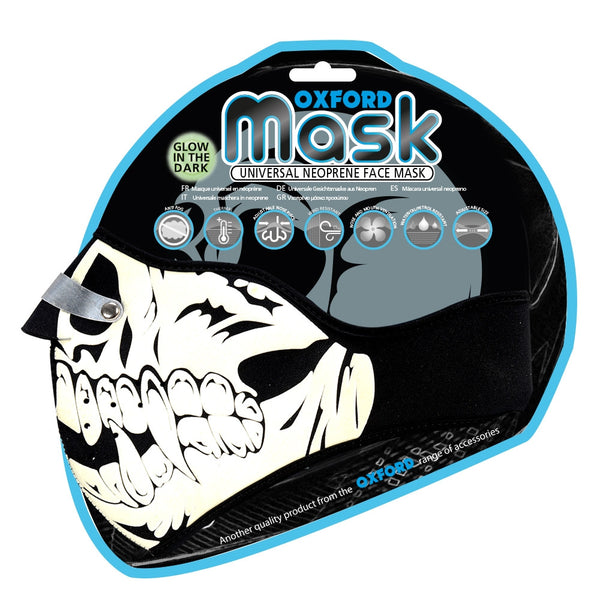 Oxford Mask - Glow Skull