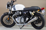 S&S Tapered Cone Mufflers - Race Only - Royal Enfield® Interceptor 650 Twins - PRE ORDER