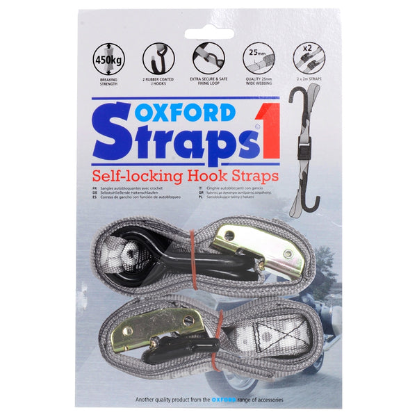 Oxford Straps 1 Self Locking Bike Hook Straps