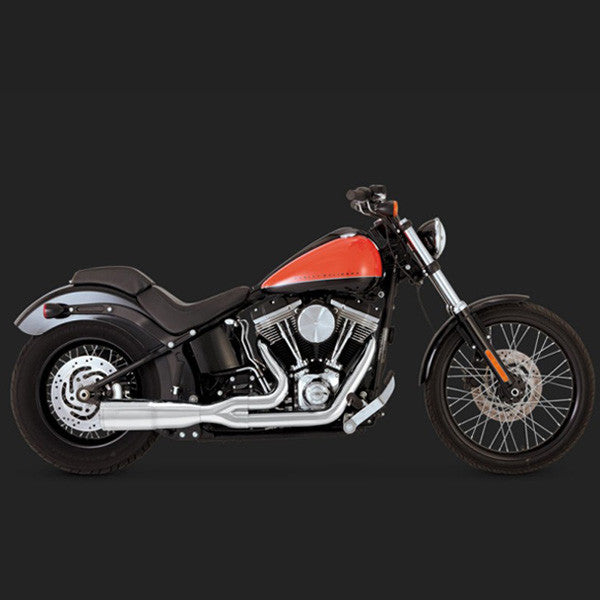 Vance & Hines Hi-Output 2-1 Short - Softail