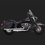 Vance & Hines Exhausts - Eliminator 300 Slip-ons - Softail Deluxe