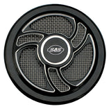 S&S Torker Air Cleaner Cover - Stealth Black