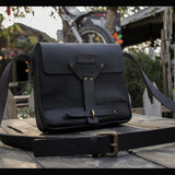 Trip Machine Messenger Bag - Black
