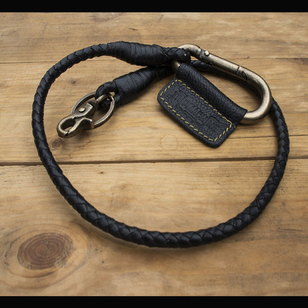 Trip Machine Braided Key Chain - Classic Black