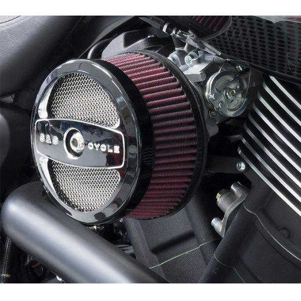 S&S Dual Bore Air Cleaner Kit