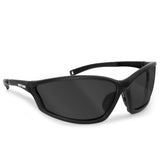 Bertoni Rubber Black/Smoke Sunglasses-AF100C