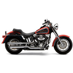 "Cobra 3"" Slip-on Mufflers - Softail Fatboy"