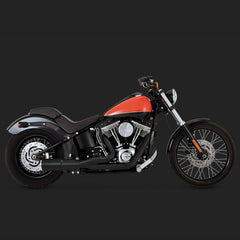 Vance & Hines Exhausts - Hi-Output 2-1 Short - Softail