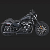 Vance & Hines Exhausts - Twin Slash Slip-ons - Sportster