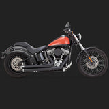 Vance & Hines Big Shots Staggered - Softail