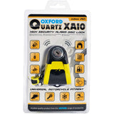 Oxford Quartz Xalo XA10 Alarm Disc Lock (10mm)