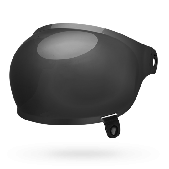 Bell Shield Bullitt Bubble, Black Tab - Dark Smoke