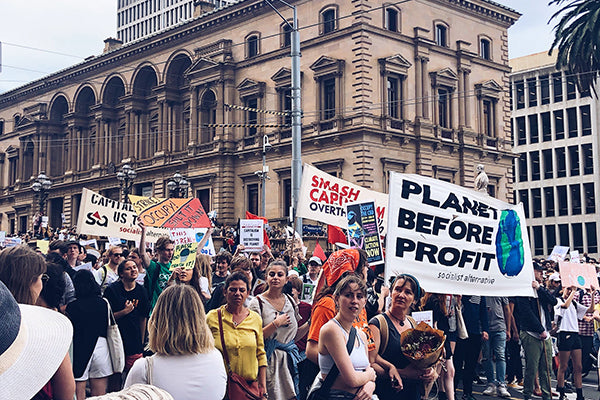 Crema Joe at School Strike 4 Climate, Not Business As Usual 2019