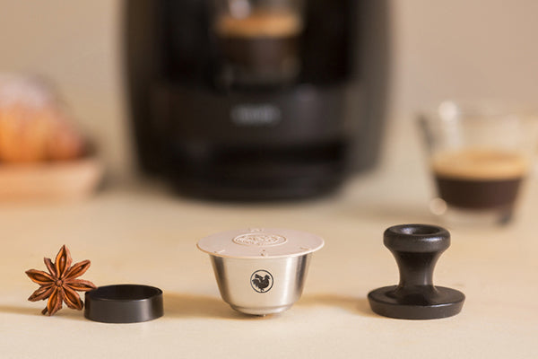 WayCap reusable coffee pods / capsules for Dolce Gusto Lumio machines