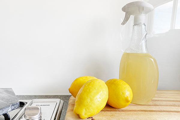 Zero Waste Lifestyle: Homemade DIY Lemon Citrus Vinegar Multi-purpose Cleaner Recipe