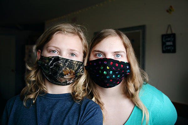 Handmade masks in Melbourne: eco-friendly facemasks and ear savers