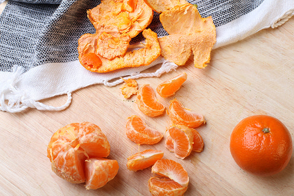 How to make your own citrus peel with vinegar