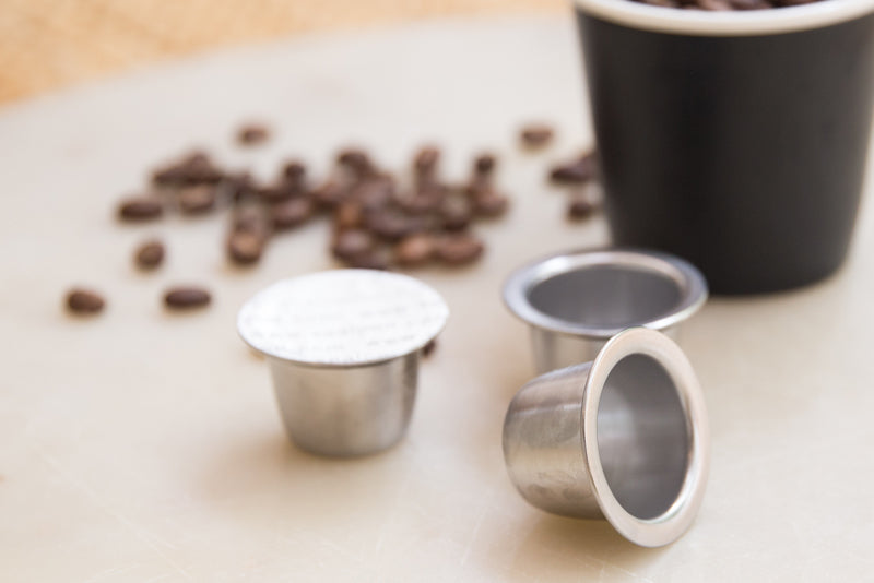 Review: These refillable pods work best in Nespresso Inissia / Milk capsule machines   Australia