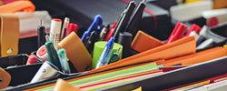 Where to donate / recycle stationery (pens, highlighters, rulers) in Australia