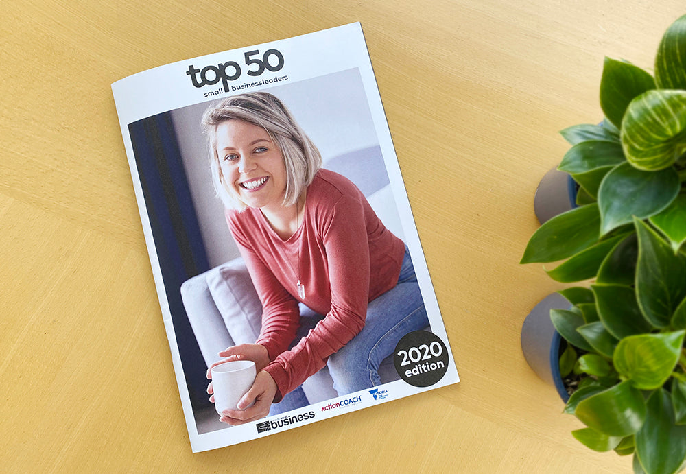 Kayla Mossuto of Crema Joe win's spot in Top 50 Business Leaders of 2020