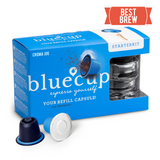 Nespresso Compatible Bluecup Reusable Coffee Capsules - Starter Pack