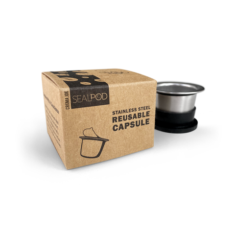 SealPod Australia: refillable / reusable coffee pods & capsules for Nespresso
