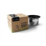 FeePod Stainless Steel Reusable Coffee Pod for Aldi K-fee Expressi and Caffitaly Coffee Machines
