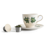 Brew Tea with these SealPod Nespresso compatible paper tea lids for refillable nespresso capsules