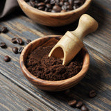 Coffee ground specifically for use with reusable coffee pods