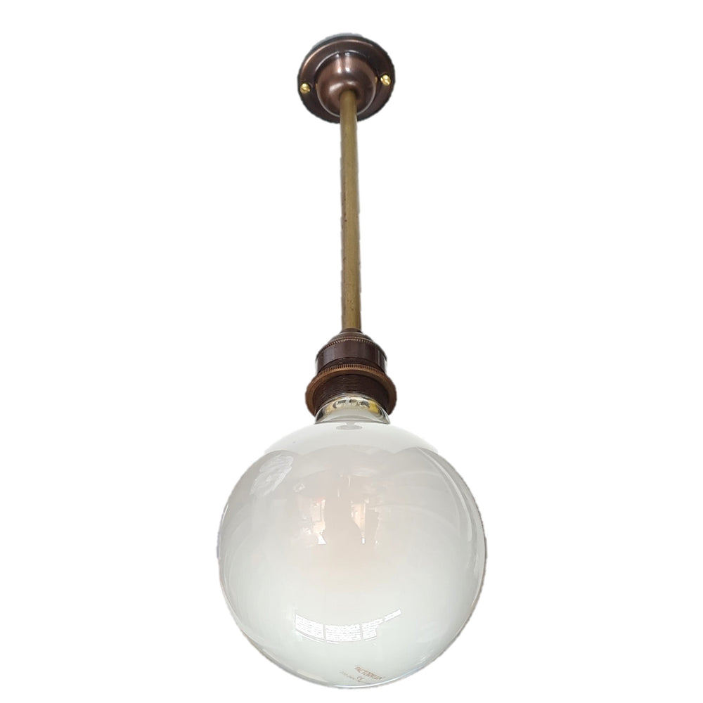Frankley brass / bronze ceiling light